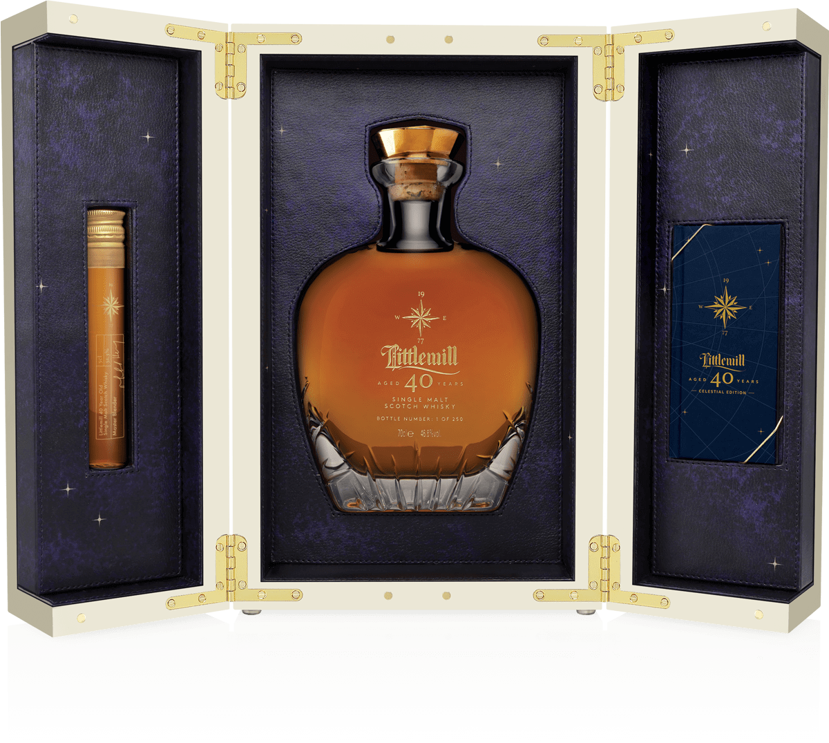 Littlemill Aged 40 Years Case